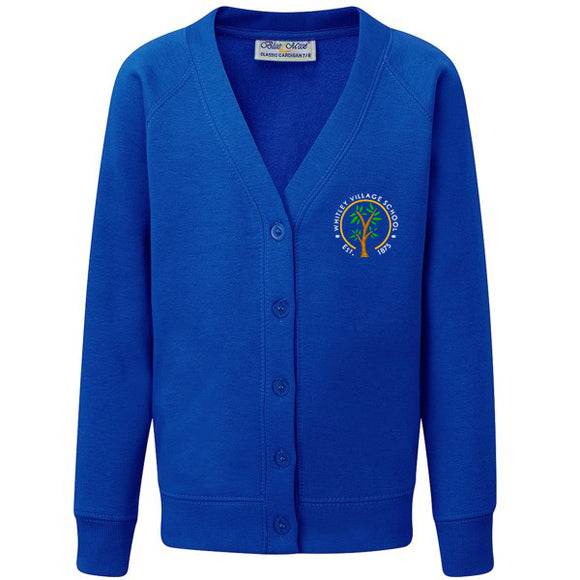 Whitley Village Primary Cardigan Royal