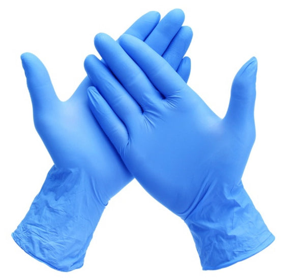 Nitrile Gloves - Latex Free (Box Of 100)