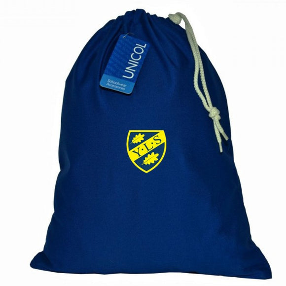 Yorston Lodge Shoe Bag Royal (Kindergarten & Infants Only)