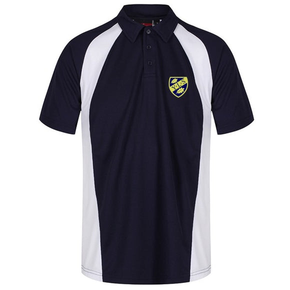 Yorston Lodge Polo Navy / White
