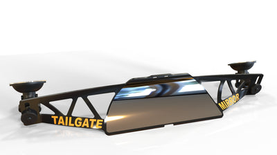 Tailgate Mirror makes backing up easier!