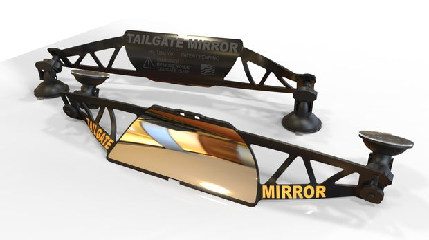 Tailgate mirror bring your backup camera back to life