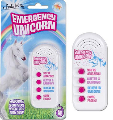 Annoying Emergency Unicorn Electronic Noisemaker Toy
