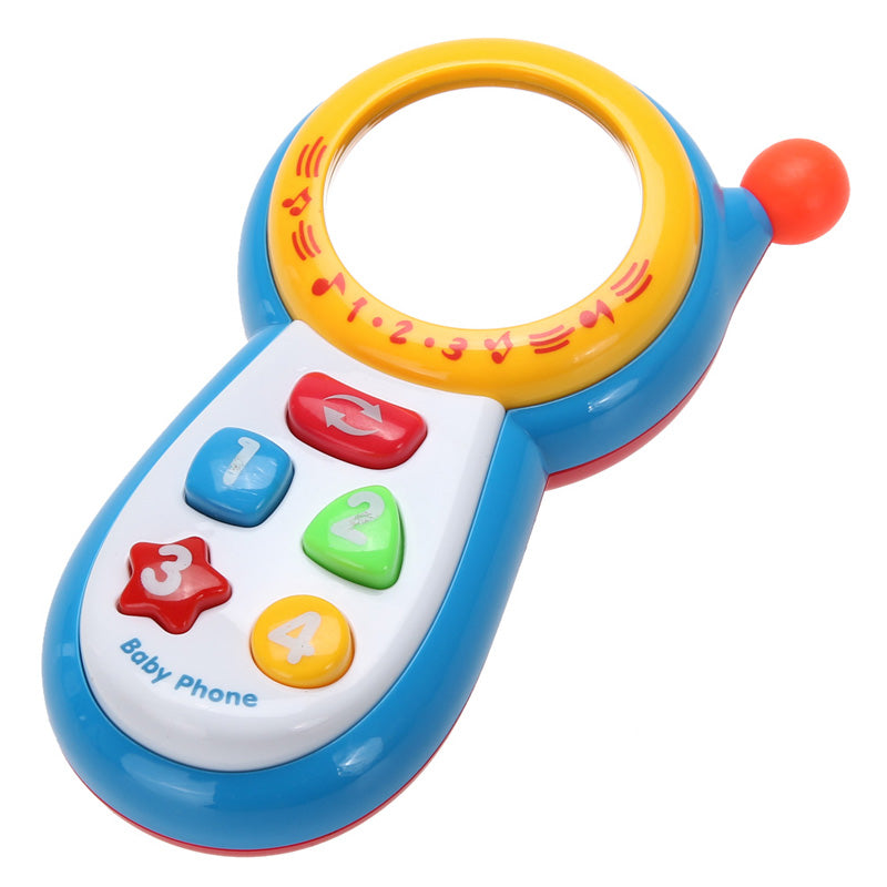 Baby's First Mobile Cell Phone Noisy Musical Toy