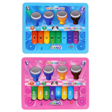 Baby's Musical Toy Piano and Drum Tablet