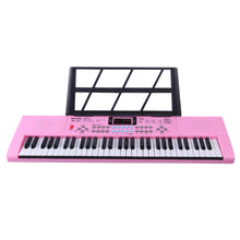 Load image into Gallery viewer, Pink Kids Training Piano Training With 61 Keys