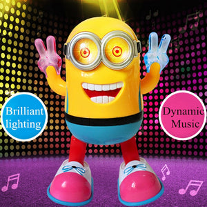 Despicable Me 3 Talking Dave Action Figure Toy With Light And Music
