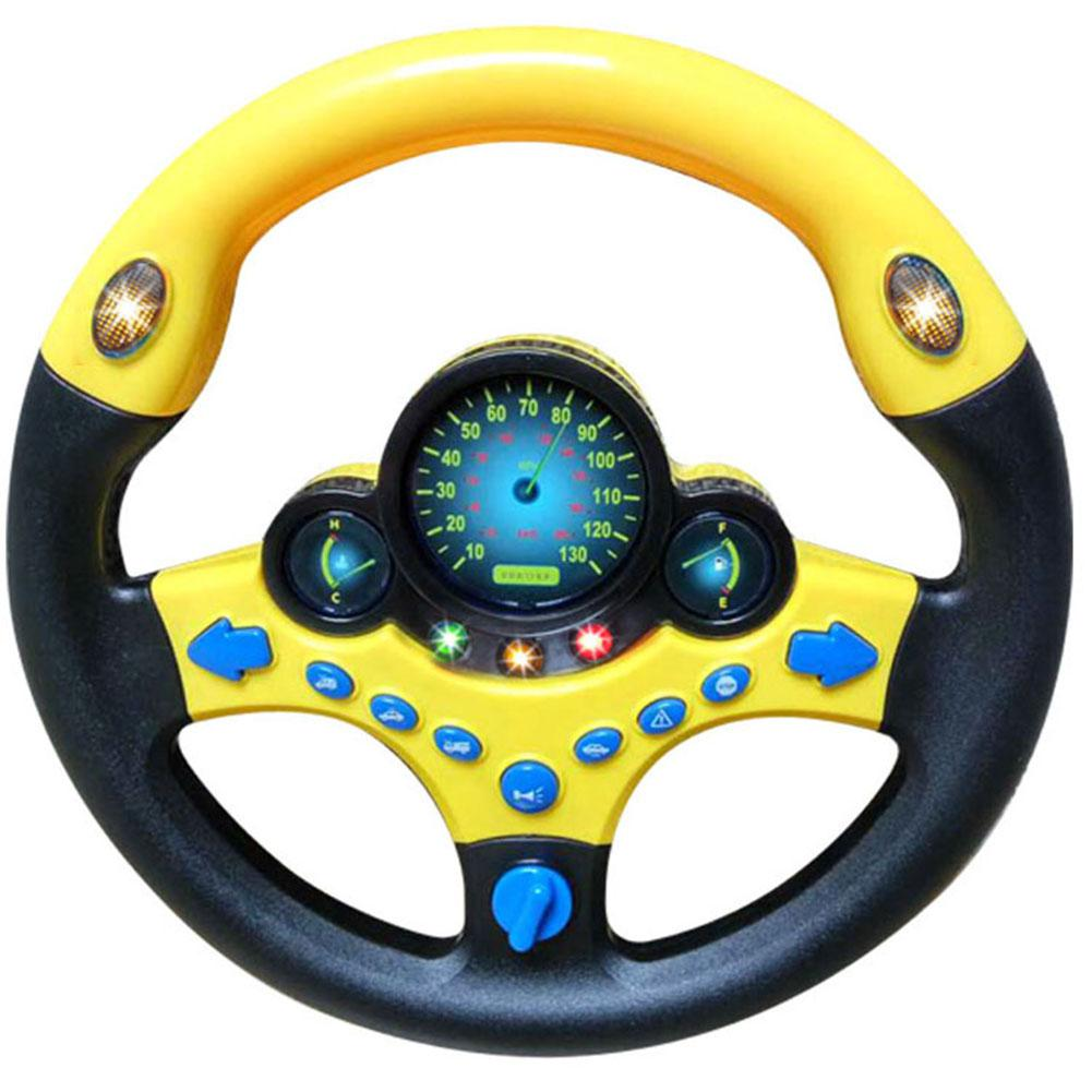 Simulation Steering Wheel with Lights & Sound