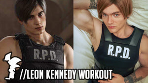 The Leon Kennedy Workout (Anime GainZ)