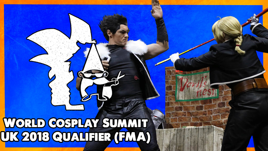 World Cosplay Summit (WCS) UK 2018 Qualifier: FullMetal Alchemist FMA Cosplay Skit