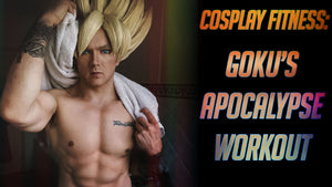 Goku's Apocalypse Workout; How to EFFECTIVELY use bodyweight training (COSPLAY VS CORONAVIRUS ANIME GAINZ)