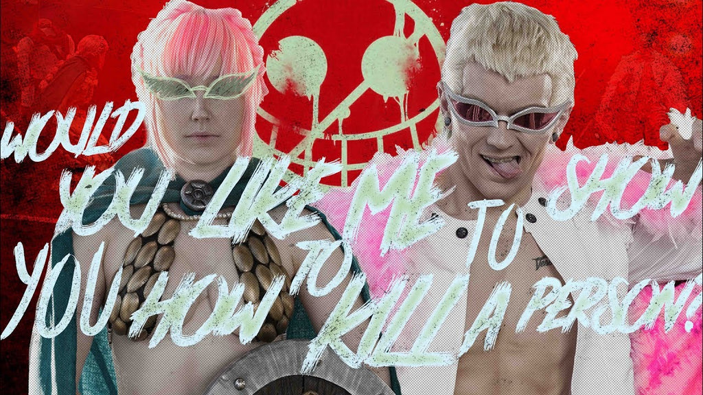 ONE PIECE COSPLAY SKIT - Doflamingo & Rebecca - C4 2020 UK Qualifier