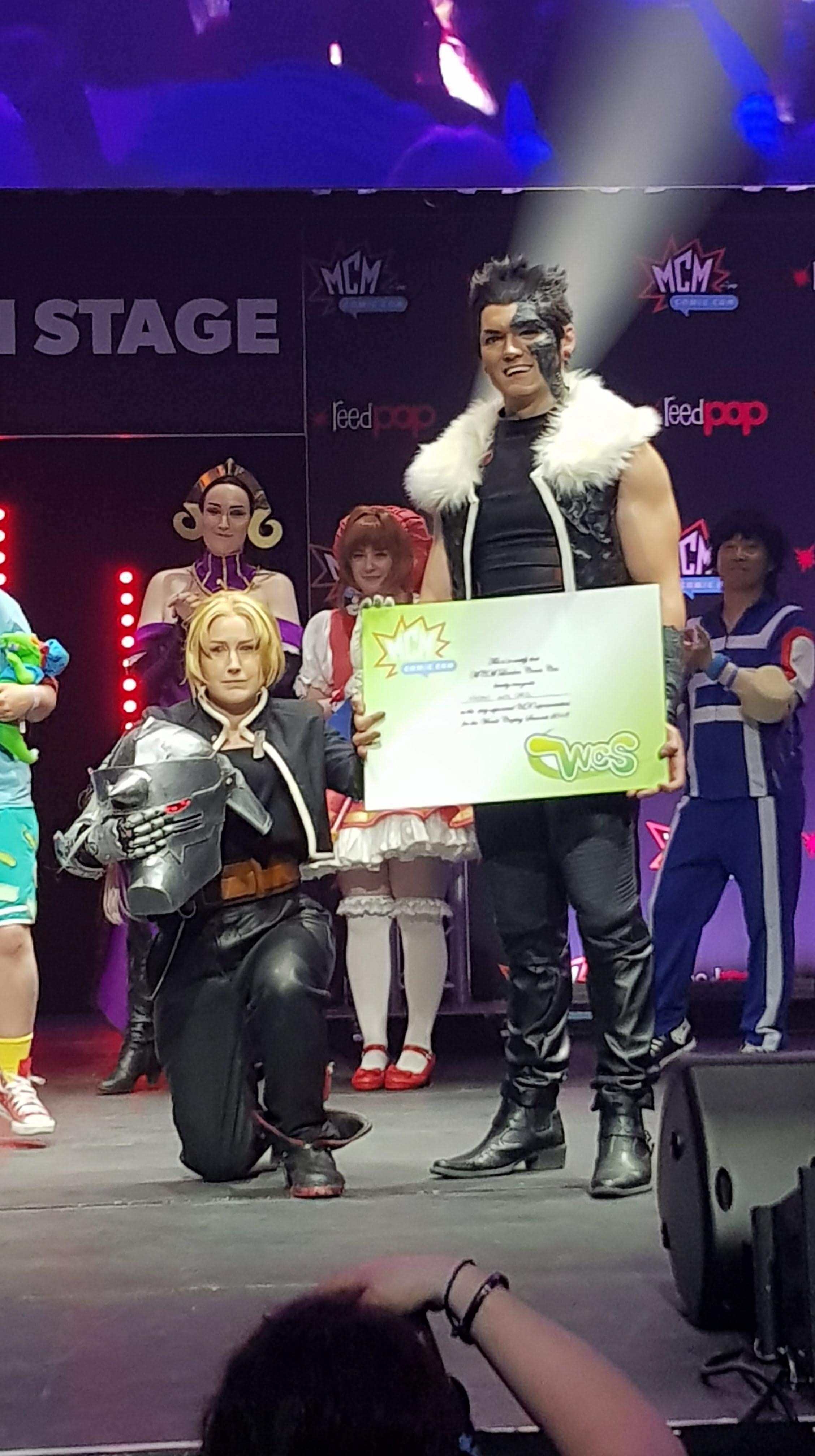 Edward Elric and Greed Cosplay From FullMetal Alchemist Winning The World Cosplay Summit 2018 Qualifier To Go To Japan