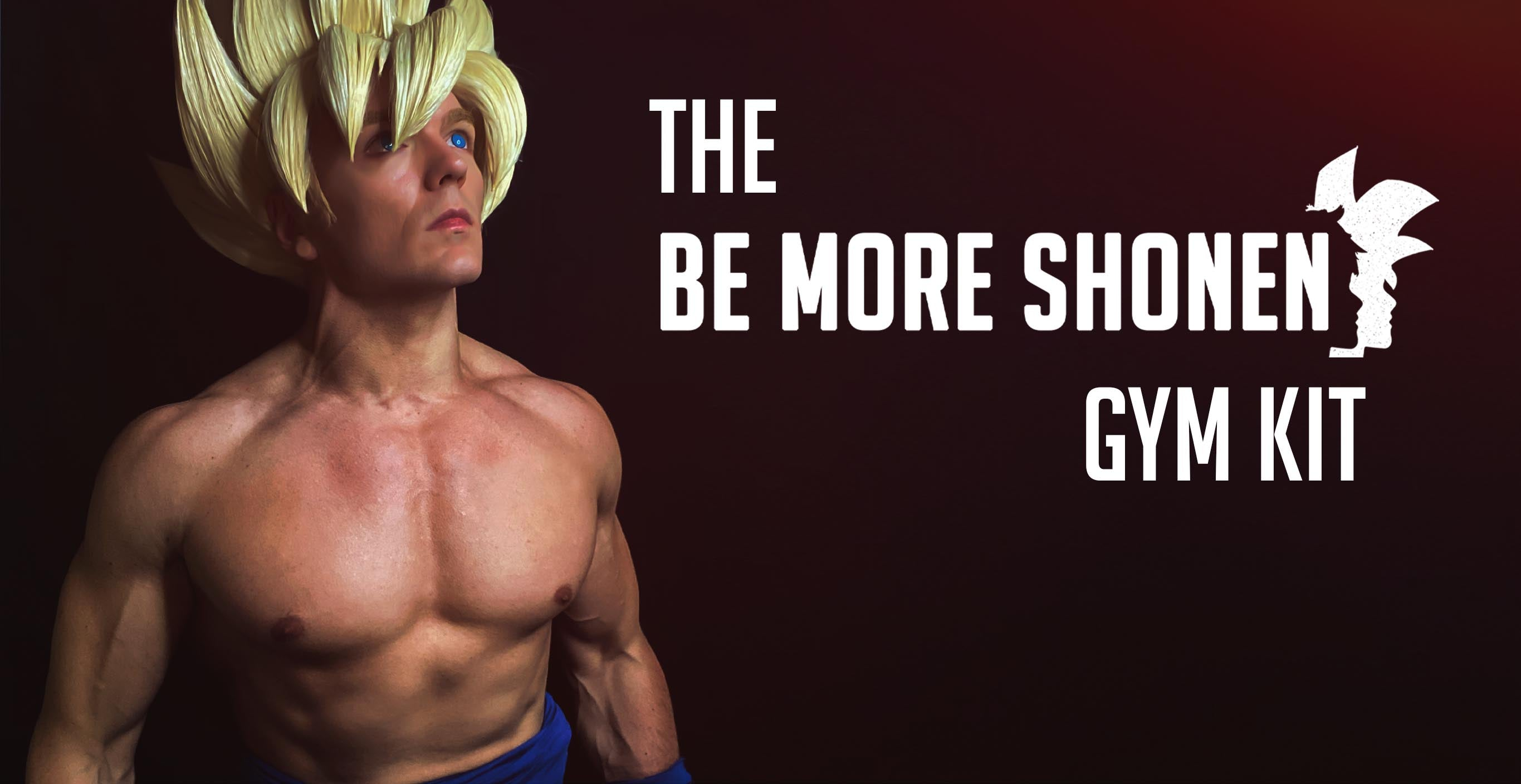 The Be More Shonen beginners gym kit for anime fans and cosplayers