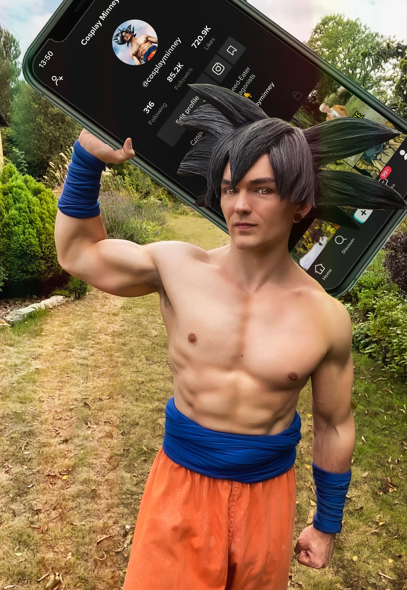 Why every cosplayer should get on tiktok if they want to get noticed - Tiktok Goku Cosplay Minney speaks out