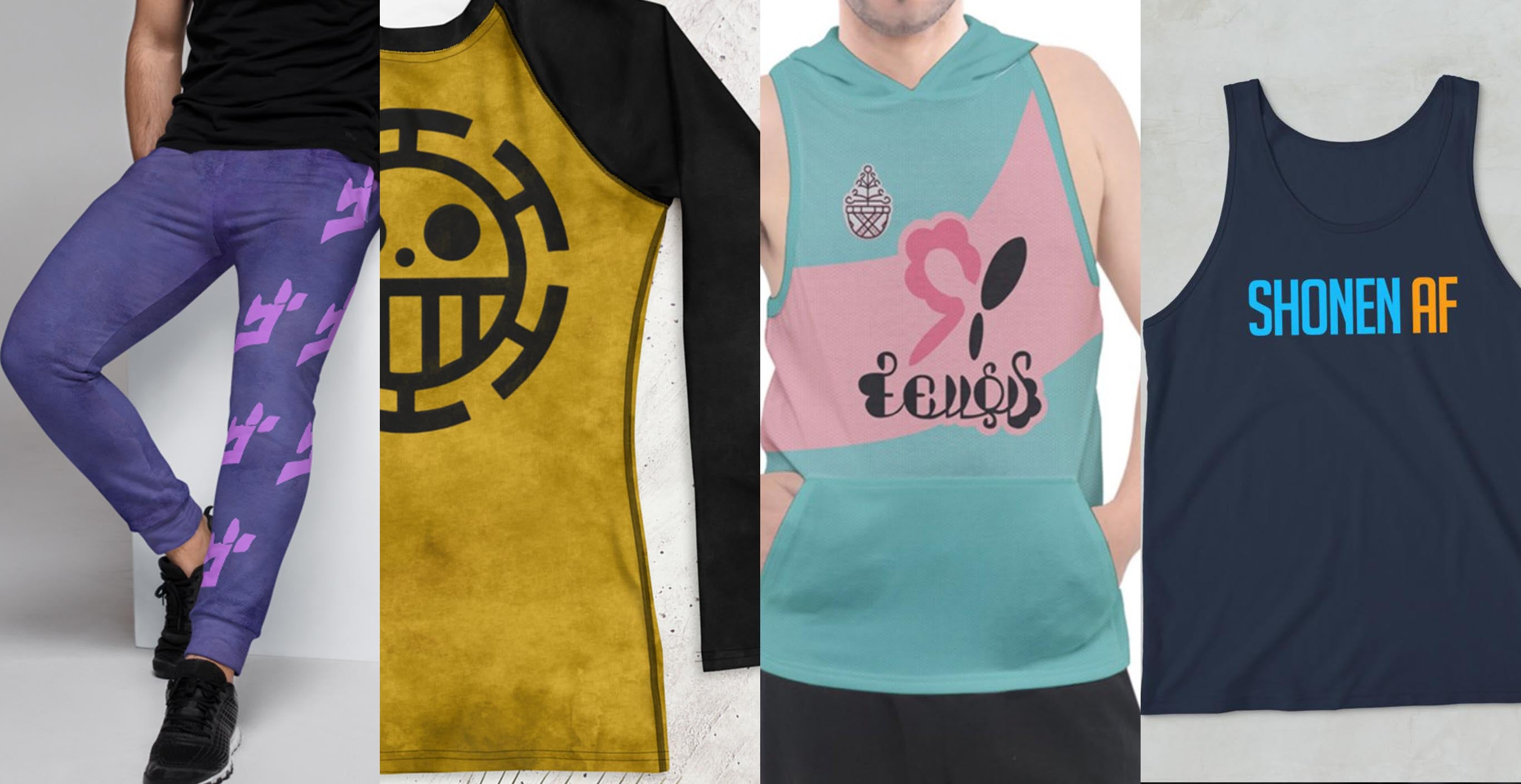 anime gym clothes for bodybuilders and cosplayers