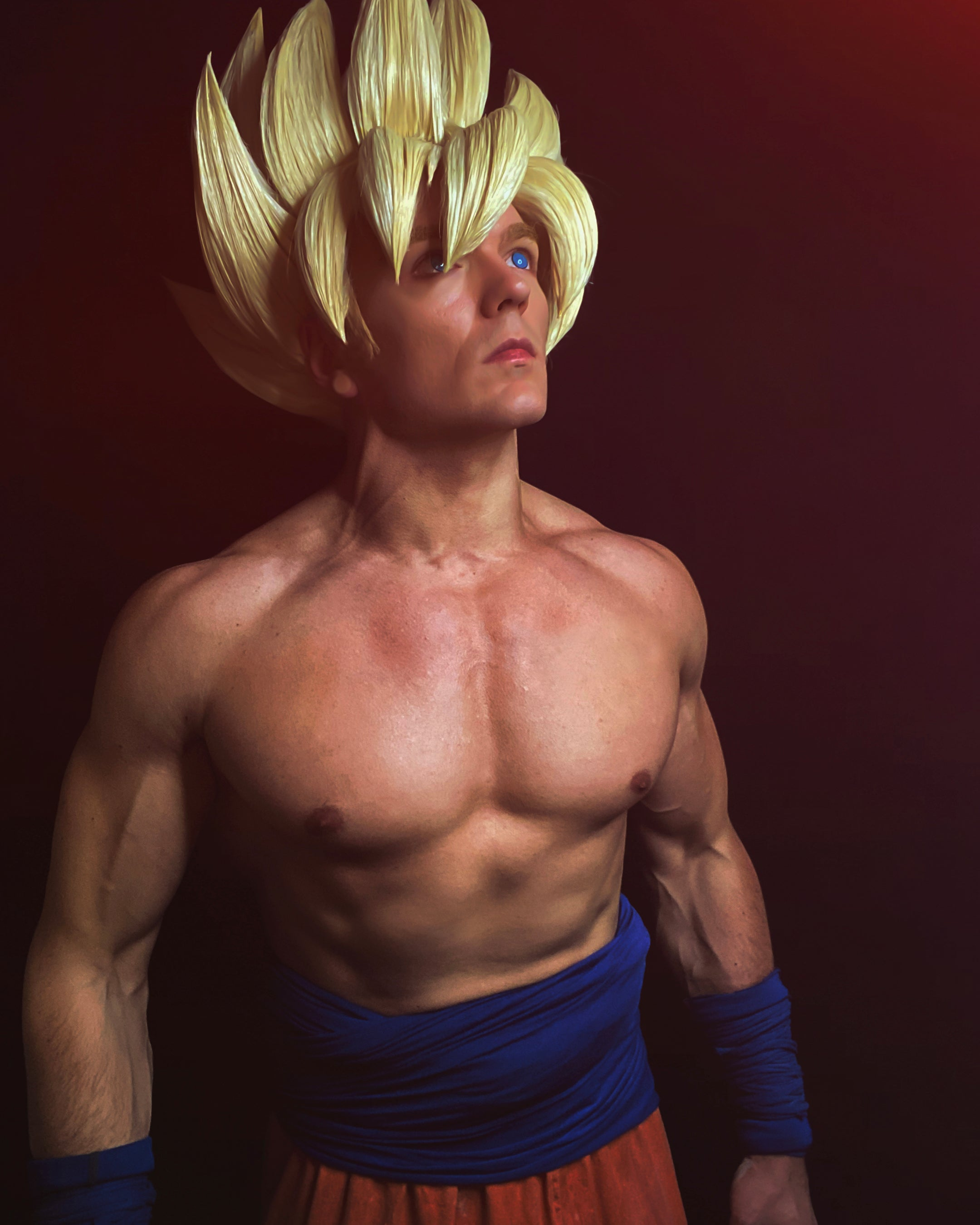 Son Goku cosplayer teaches you how to get fit by using anime as inspiration