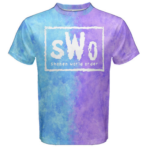SHONEN WORLD ORDER Tee - Anime Otaku Pastel Geek T-Shirt New World Order Nwo WWE WCW Parody Shirt
