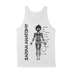 Saiyan Anatomy Son Goku Vegeta Dragon Ball Z DBZ DragonBall Super GT Heroes Abridged Kai Gym Fitness Workout Tee T-Shirt Shirt Tank For Bodybuilders and Powerlifters Who Train Insaiyan