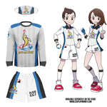 Pokemon Trainer Victor/Gloria Galar League Uniform Accurate Realistic Sword and Shield Cosplay T-Shirt