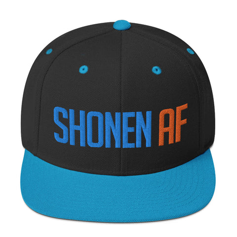 SHONEN AF - Anime Gym Snapback / Otaku Weeb Fitness Workout Cap
