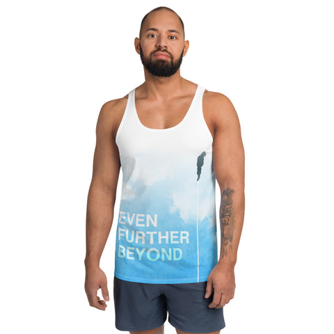 Even Further Beyond Tank/Vest - Dragon Ball Z Goku Inspired Aesthetic Otaku Workout Gym Wear