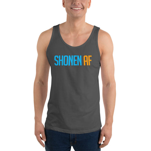 SHONEN AF - Anime Gym Vest / Otaku Weeb Fitness Workout Tank