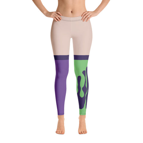 Pokemon Rival Klara Sword and Shield Realistic Cosplay  Light Skinned Leggings/Socks