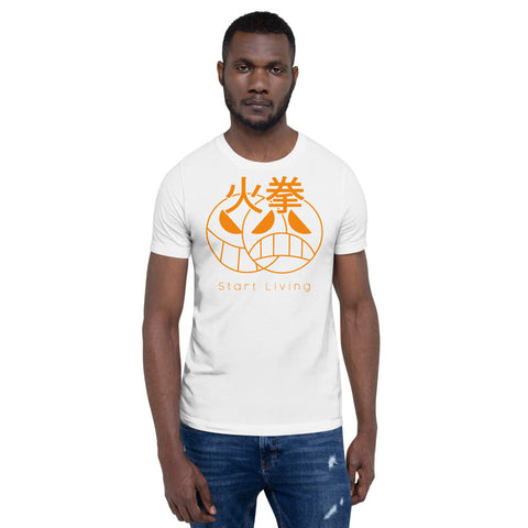 START LIVING - Firefist Portgas D Ace Inspired One Piece Anime Short-Sleeve Unisex T-Shirt For Weebs With Style