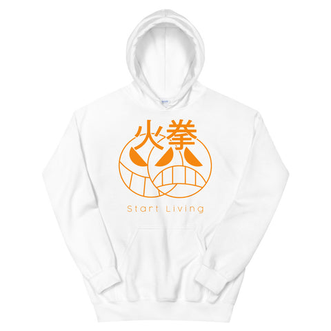 START LIVING - Firefist Portgas D Ace Inspired One Piece Anime Unisex Hoodie