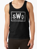 SHONEN WORLD ORDER Tank - Anime Otaku Geek Gym Vest New World Order Nwo WWE WCW Wrestling Parody Workout Clothes