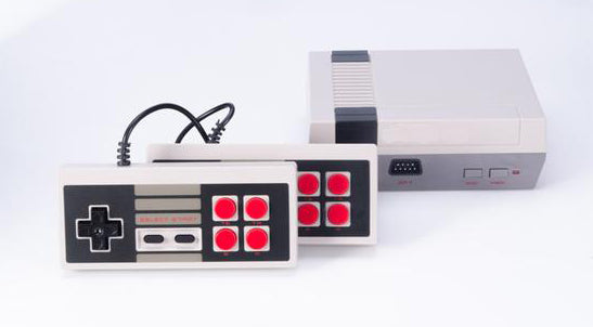 classic game console with built in games