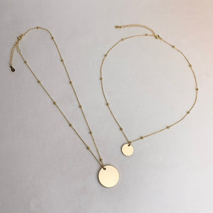 Medaillon Necklace Large