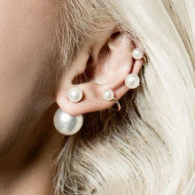 Load image into Gallery viewer, Pearl Ear Cuff Bali