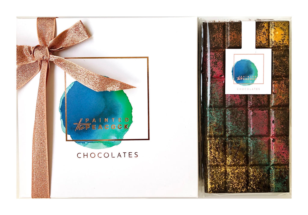 Mother's Day Gift - A Selection of Assorted 16 Chocolate Bonbons & A 70% Dark Chocolate Bar