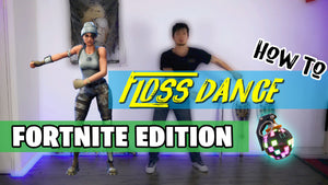 How To Do The FLOSS DANCE Step By Step (FORTNITE Edition)