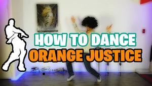 HOW TO DO ORANGE JUSTICE DANCE  + Bonus Moves (Fortnite)