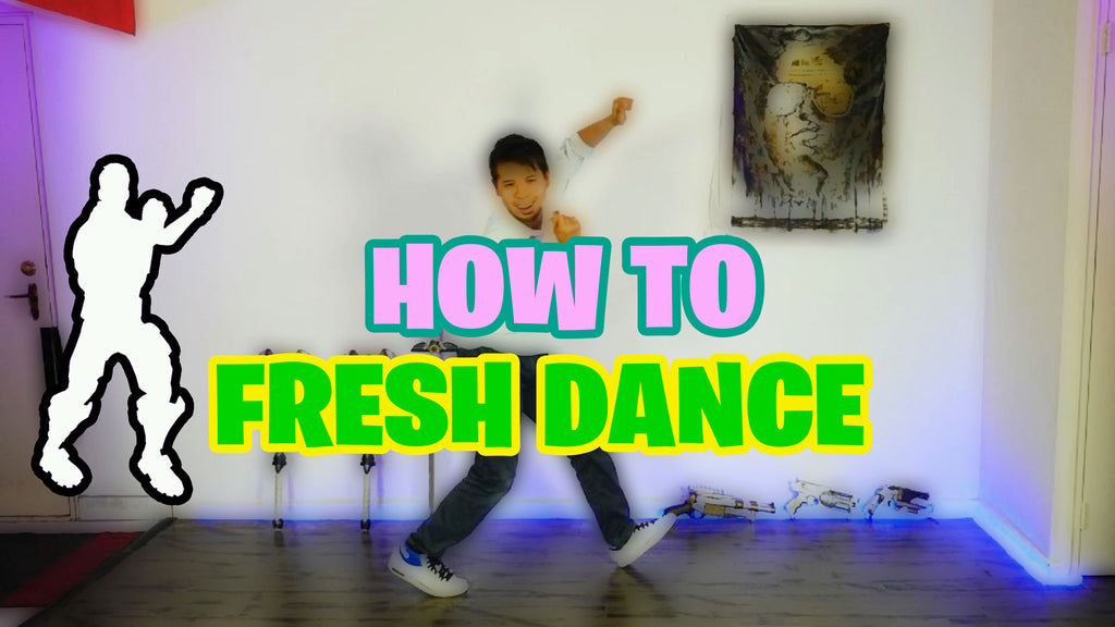 HOW TO FRESH DANCE (aka CARLTON DANCE) Pt. 1| Fortnite Edition