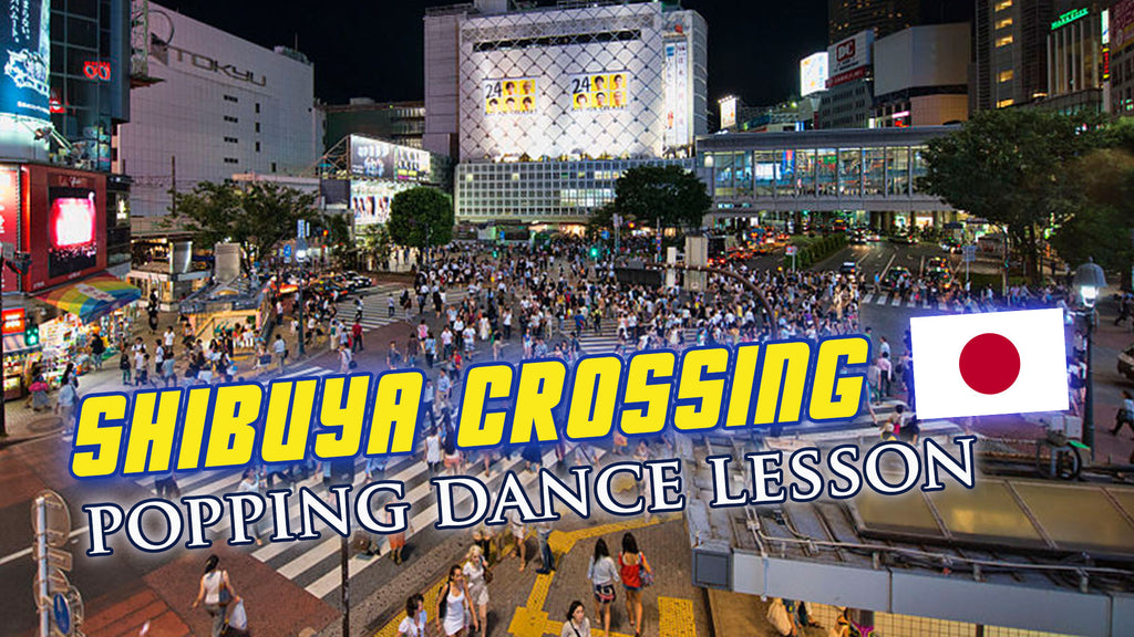 How To Pop For Club Dance: Shibuya Edition!