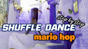 Shuffle Dance Move Step By Step Semi-Advanced | The Mario Hop
