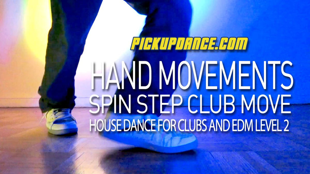 EDM Dance - How To Move Your Hands | The Spin Step
