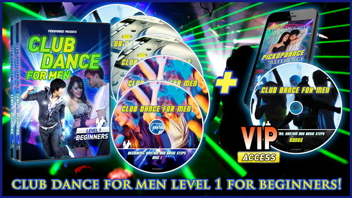 Club Dance For Men Level 1: Completely New Release!