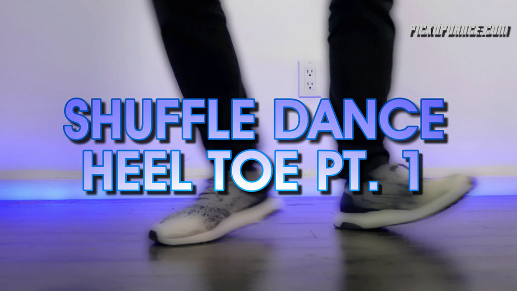SHUFFLE DANCE Tutorial For Beginners Pt.1 | Heel Toe | Cutting Shapes For Beginners