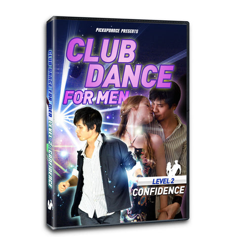 Club Dance For Men Level 2 Program For Beginners: Confidence (Digital Download)