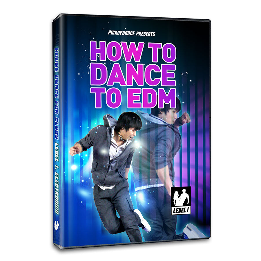 How To Dance To EDM Level 1 Foundation Moves For Beginners Program (Digital  Download)