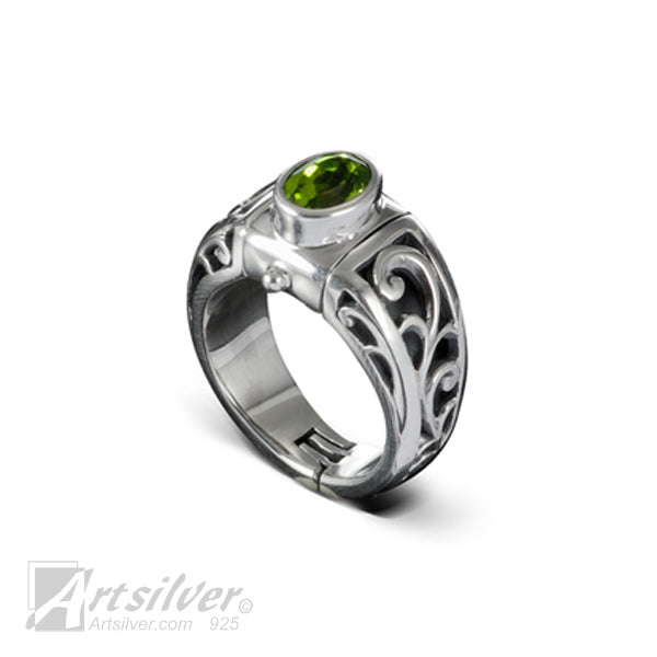 Filigree Throne Adjustable Ring Shanks