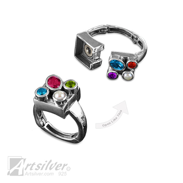 Box of Colors Arthritis Ring