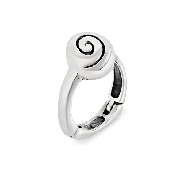 Offset Swirl Ring