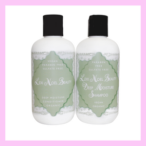 Lexi Noel Beauty Organic Vegan Shampoo and Conditioner Set - Beautiful People Beauty Supply