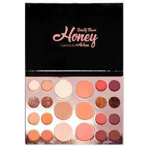 Alice+Jane Neutral Eyeshadow+Highlighter+Blusher Palette Honey Beauty Flavor - Beautiful People Beauty Supply